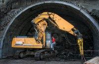 В Карпатах началось строительство Бескидского ж/д тоннеля
