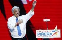 Президентом Чили во второй раз избран миллиардер Себастьян Пиньера