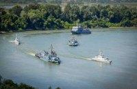 На Дунаї почалися українсько-румунські навчання Riverine-2020