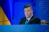 """Янукович снова оговорился: """"Когда увидишь своими руками, глазами потрогаешь"""""""