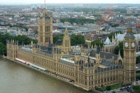 В здании британского парламента сработала пожарная сигнализация
