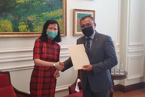 Ірландія вперше призначила посла в Україні з резиденцією в Києві