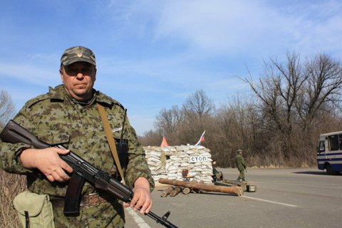 """Боевики """"ДНР"""" прекратили охранять патрульную базу ОБСЕ в Горловке"""