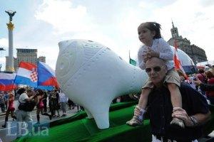 Київ заробив щонайменше 84 млн грн на Євро-2012