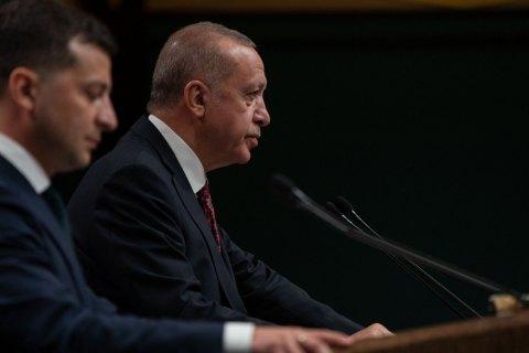 Эрдоган заверил Зеленского в поддержке Украины
