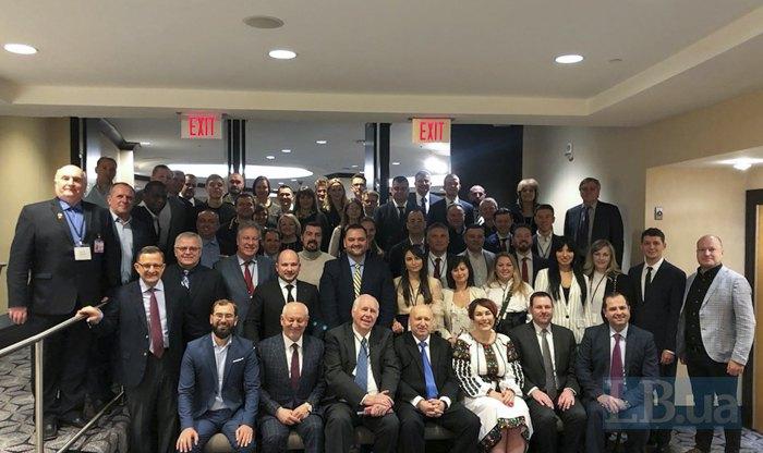 Часть украинской делегации после большого молитвенного завтрака