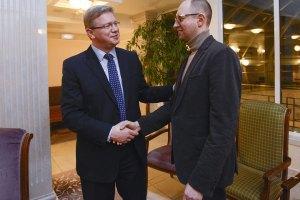 Підтримка України Євросоюзом залежить від готовності Януковича, - Яценюк