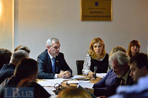 Профільний комітет Ради знову висловився за відставку Супрун