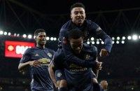 """Эпичным противостоянием против """"Арсенала"""" в Кубке Англии """"Манчестер Юнайтед"""" продлил свою победную серию (обновлено)"""