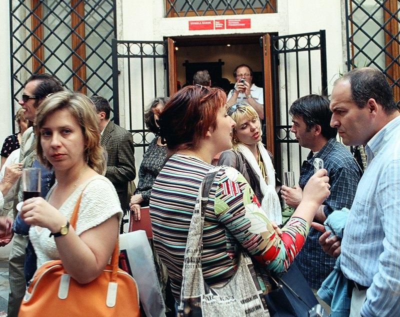 Открытие украинского павильона, 2005 г