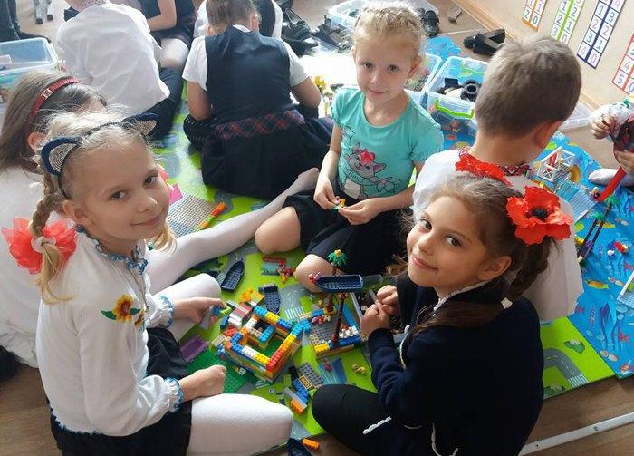 Використання LEGO-технологій в НВО №25 -