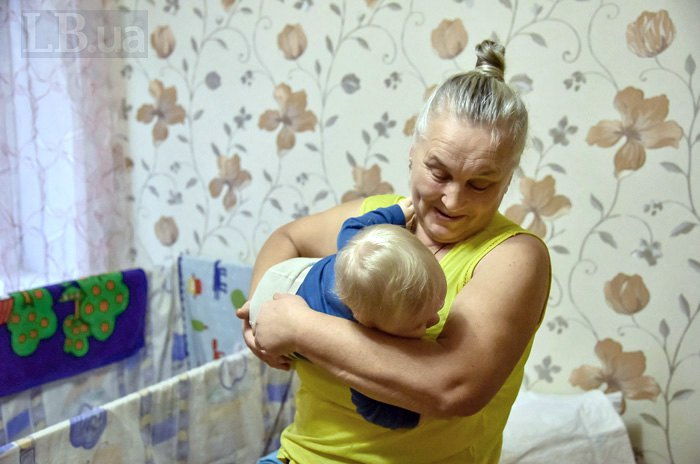 Мальчик Ваня с патронатной мамой Татьяной