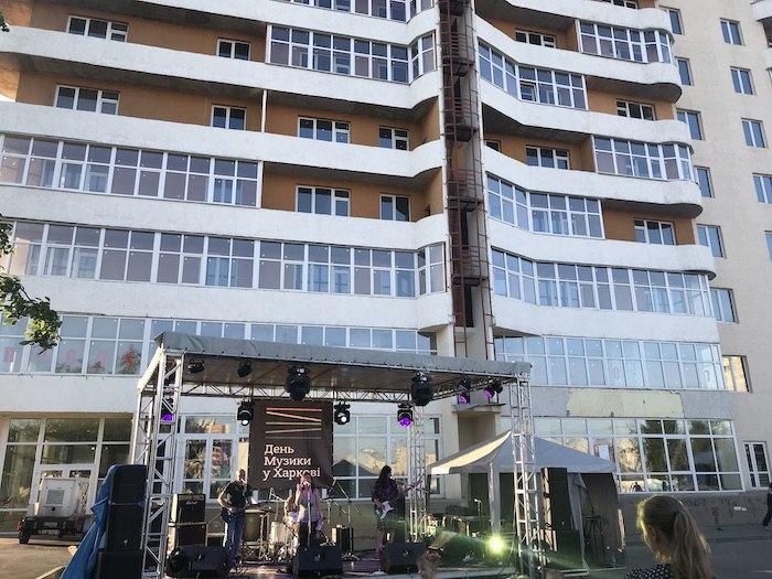 """Концерт возле станции метро """"Алексеевская"""""""