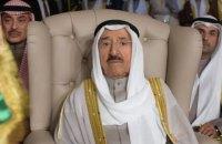 Емір Кувейту помер під час лікування у США