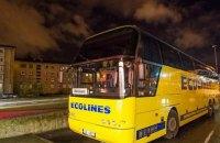 Пассажирке пришлось сесть за руль автобуса Таллин - Рига вместо пьяного водителя