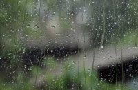 На понеділок Україні прогнозують дощі та грози, температура до +19