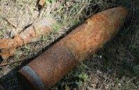 В Борисполе взорвался снаряд ВОВ, есть пострадавший