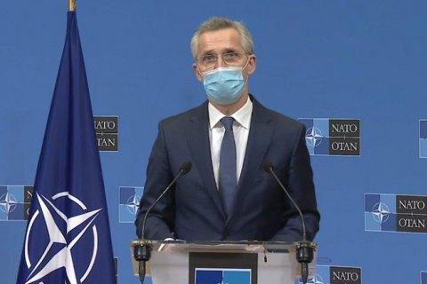 """""""Не только на словах, но и на деле"""", - Столтенберг о поддержке Украины со стороны НАТО"""