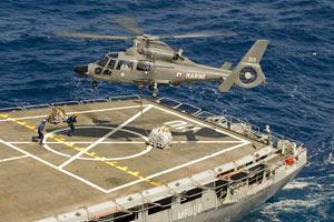 Франция отправила вертолеты против Каддафи