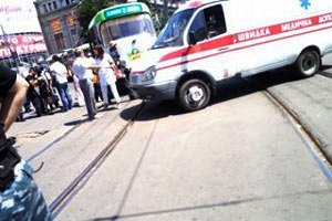 За фактом займання пороху в трамваї порушено справу