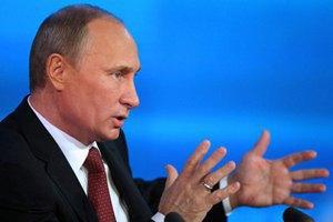 Путін вирішив відкрити рахунок у банку, який потрапив під американські санкції