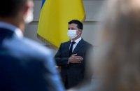 """Зеленський - до суддів: """"Ви здійснюєте правосуддя не від імені окремих інтересів, а від імені України"""""""