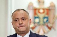 Конституційний суд Молдови тимчасово відсторонив Додона