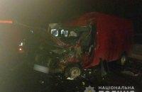 На Буковине столкнулись две маршрутки, погибла женщина