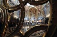Пасхальные богослужения посетили около 130 тыс. прихожан