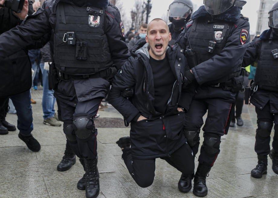 Затримання під час акції у Москві