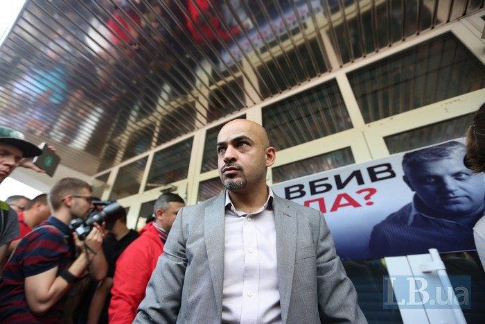 Депутат Верховной Рады Мустафа Найем