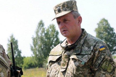 Муженко повідомив про військову загрозу для України з півдня і північного сходу