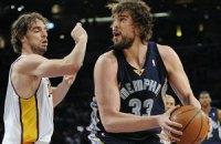 Брати Газоль виступатимуть за різні команди в Матчі всіх зірок НБА