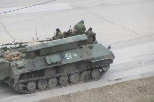 """У Луганську помічено російський мобільний командний пункт """"Ранжир"""""""