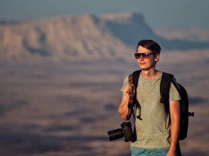 Сергей Орлов, фотограф, который уехал в Израиль.