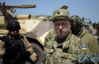 Турчинов не верит в дипломатическое решение конфликта на Донбассе