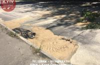 В Подольском районе Киева произошла авария на водопроводе