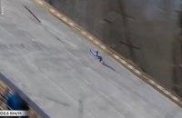 Олімпійський чемпіон на етапі Кубка світу впав із трампліна на швидкості 102 км/год