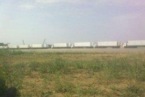 Российская гуманитарная помощь подъезжает к Украине