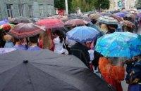 Завтра в Киеве возможны грозы