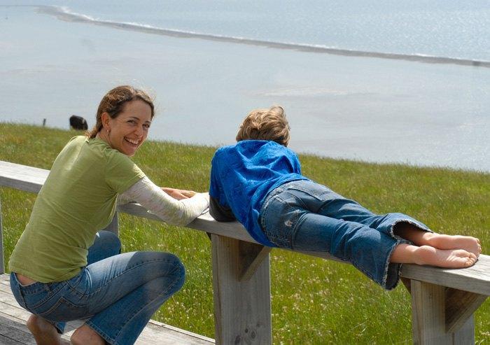 Урок природи у хоумскулера, Нова зеландiя