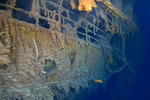 """Исследователи показали первые за 14 лет фото затонувшего """"Титаника"""""""