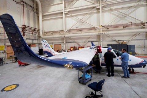В NASA представили первый электрический самолет