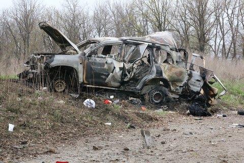 Подрыв автомобиля ОБСЕ на Донбассе квалифицировали как теракт