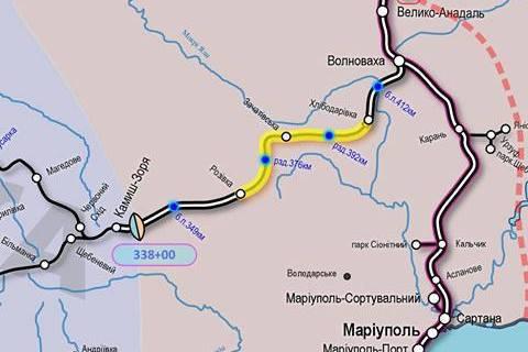 """""""Укрзалізниця"""" розширила пропускну здатність залізниці в Маріуполь"""