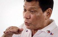 Президент Філіппін зізнався, що вбив людину