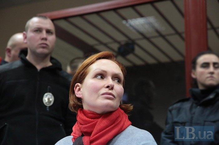 Юлія Кузьменко на суді