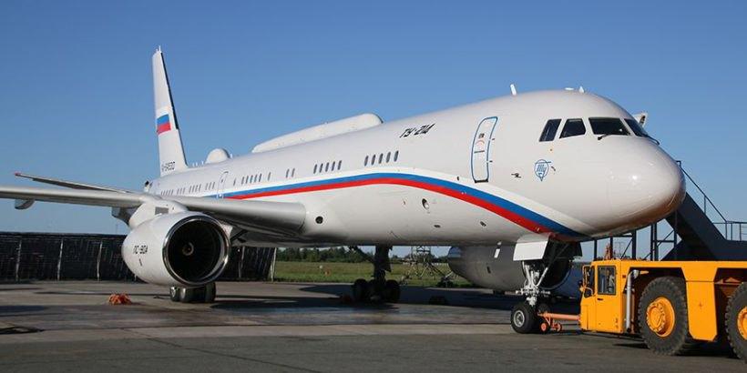 Самолёт специального назначения Ту-214