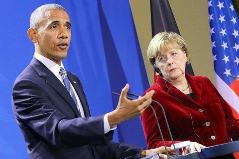 Обама и лидеры ЕС согласились продлить антироссийские санкции