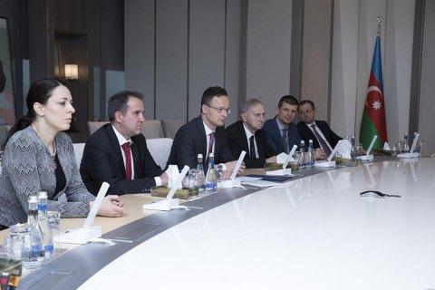 Венгрия надеется начать импорт азербайджанского газа с 2021 года